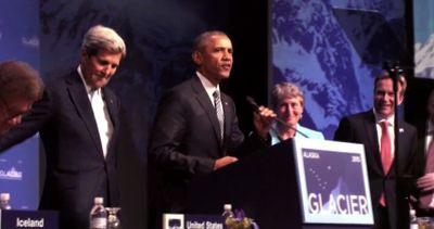 Obama in Alaska: cambiamento clima è la sfida del secolo