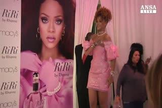 C'e' profumo di Rihanna a Brooklyn