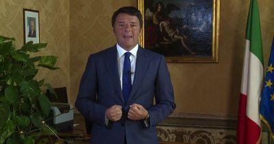 Renzi: l'Italia riparte ma adesso serve l'aiuto di tutti