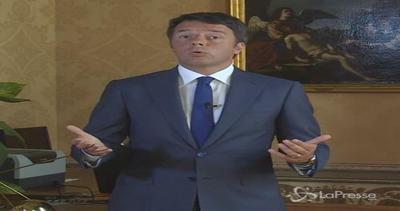 Renzi: In ultimi anni Italia ha bucato la ruota, ora ...
