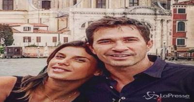 Elisabetta Canalis: pancione in primo piano e acquagym con ...