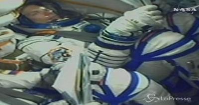 Spazio, Soyuz con 3 astronauti partita per Iss: arriverà ...