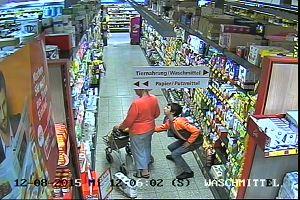 """Ladro """"invisibile"""" in azione in un supermarket in ..."""