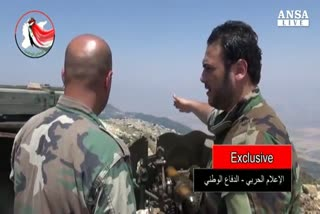 Tv Siria, in video truppe russe combattono per Assad