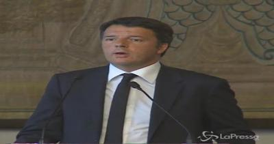 Renzi: Priorità è salvare vite umane, noi e Malta ...