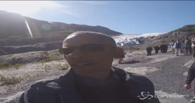 Obama al Circolo Polare Artico: per lui GoPro e selfie stick