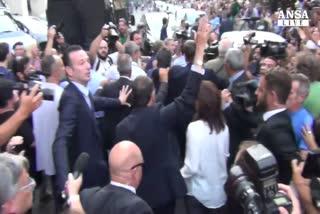 Roma reagisce alla mafia, sit-in nella piazza dei funerali ...