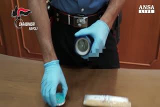 La droga? Nascosta in una lattina