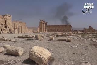 L'Isis distrugge tombe romane a Palmira
