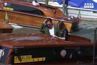 Johnny Depp sbarca al Lido di Venezia