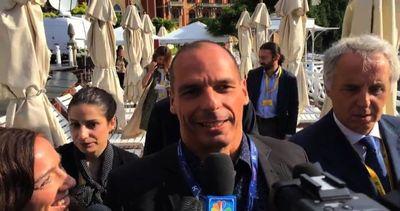 Varoufakis al Forum Ambrosetti a Cernobbio: Syriza vincerà