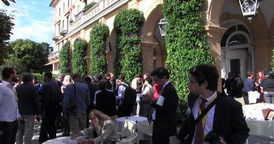 La colazione dei potenti al Forum Ambrosetti a Cernobbio