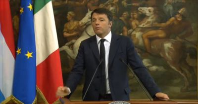 Renzi: questione migranti va affrontata nel suo insieme da Ue