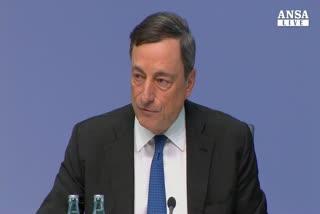 Draghi: la crescita sta tornando