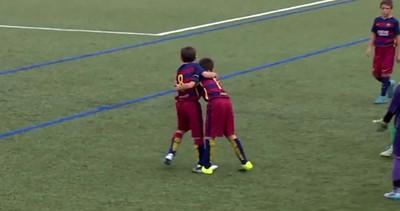 Messi e Neymar? Giocano con i giovanissimi del Barcellona