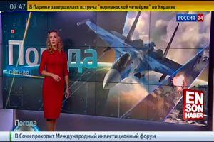 """Previsioni shock  in Russia: """"Giornata perfetta per bombardare la Siria"""""""