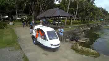 Un tre ruote anfibio realizzato nelle Filippine