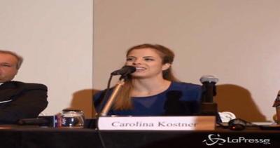 Carolina Kostner ammette: Ho fatto un errore, ma ero in ...