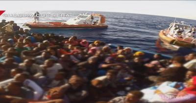 Sbarchi, salvati 1830 migranti a largo delle coste libiche