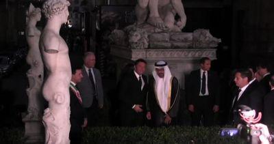 Renzi riceve a Firenze il principe ereditario degli Emirati ...