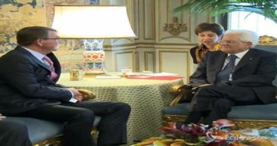 Mattarella riceve al Quirinale segretario Difesa Usa e ...