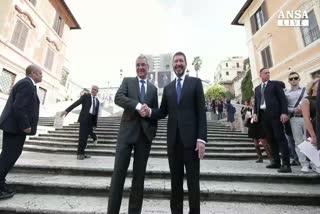 Roma, al via il restauro di Trinita' dei Monti
