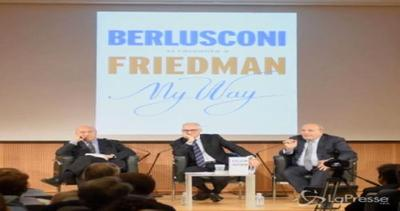 Berlusconi si racconta a Friedman: presentato 'My Way