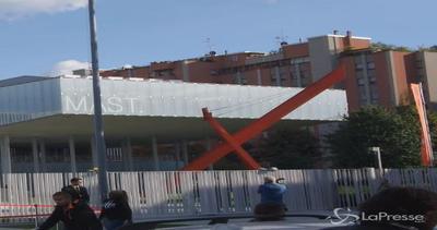 L'arrivo di Renzi al Mast di Bologna