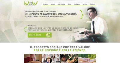 Nasce 'Wow' il portale per i ragazzi con sindrome di down