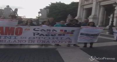 """Roma, 'Casa della Pace' a Marino: """"Riaprite il centro"""