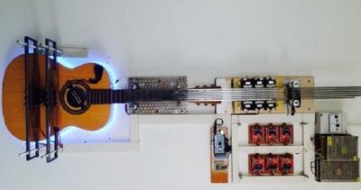 Il robot chitarra protagonista alle Makers Faire di Roma e ...