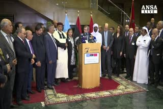 Intesa su governo unita' nazionale Libia