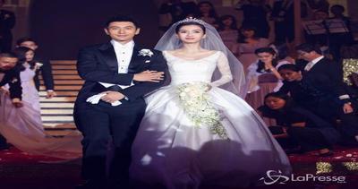 Nozze da sogno a Shanghai: la star Huang Xiaoming sposa la ...