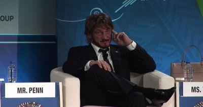 Sean Penn a Lima per sostenere la lotta ai cambiamenti ...