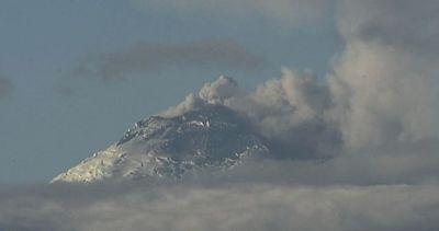 Le spettacolari immagini del vulcano Cotopaxi
