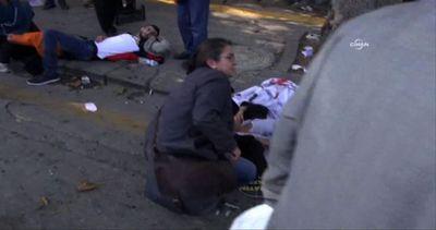 Le immagini dell'attentato ad Ankara, i morti sono almeno 20