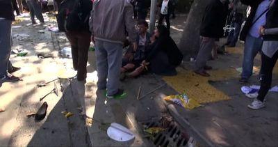 L'attentato di Ankara fa 30 morti, sangue sulla marcia ...