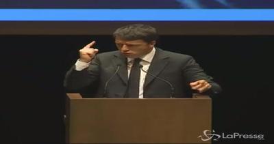 Renzi: Intervento per bambini poveri, sono un tesoro ...