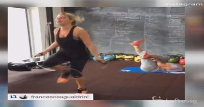 Emma Marrone in palestra: si prepara all