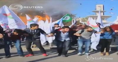 Le immagini shock dell'esplosione ad Ankara