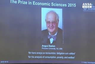 A scozzese Angus Deaton il Nobel per l'economia