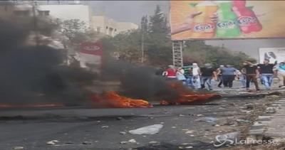A Gerusalemme 3 accoltellamenti, scontri a Nablus