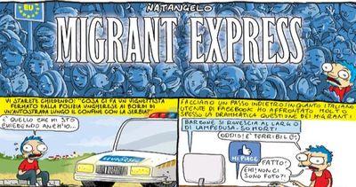 Il vignettista Natangelo in Ungheria per raccontare i ...