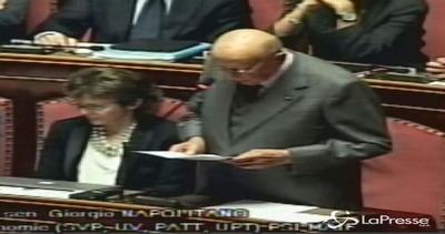 Napolitano: Riforma è passo verso nuova stabilità di ...