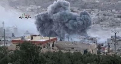 """Siria, l'aviazione russa colpisce 86 """"obbiettivi ..."""
