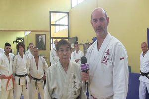"""L'urlo di Keiko Wakabayashi: """"La nonna-samurai che ..."""