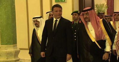 Renzi a Riad: l
