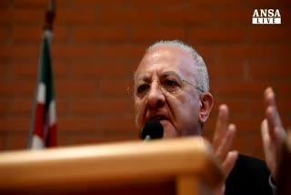Indagine su De Luca, corruzione a giudice