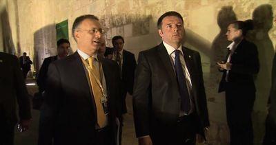 Matteo Renzi a Malta per il vertice sull