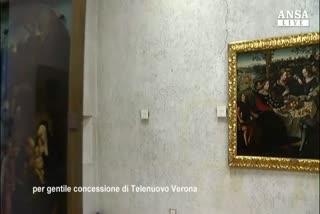 Furto in museo Verona, rubati Mantegna, Tintoretto, Rubens